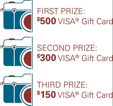 first prize $500, second prize $300, third prize $150