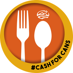 CASH FOR CANS LOGO